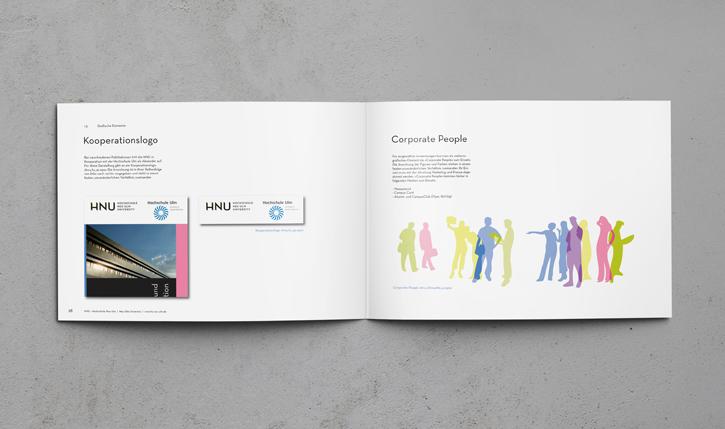 hnu hochschule neu-ulm corporate design
