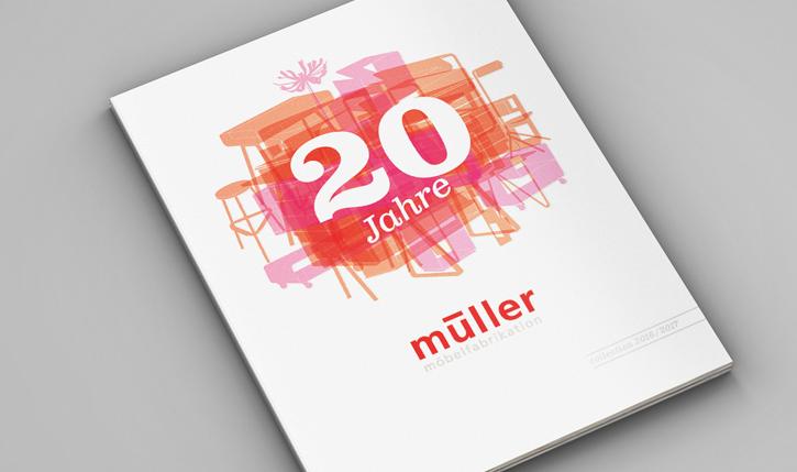 Cover Müller Katalog