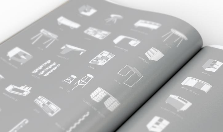 Schwarz-Weiß Ausschnitt aus dem Magazin